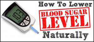 how you can lower blood sugar levels in minutes